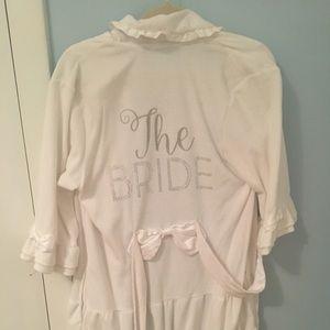 The Bride bathrobe
